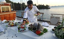 gulet yacht catering