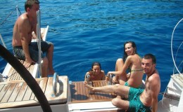 Bachelorette Party Yacht Caymans
