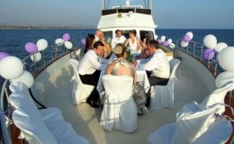 Wedding Yacht Charters Caymans