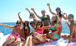 Bachelorette Party Yacht Caymans