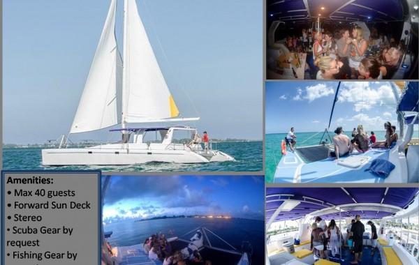 44′ Catamaran Charters Caymans