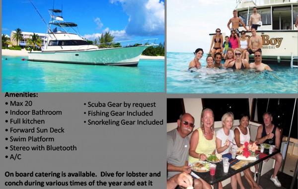 60′ Luxury Fishing