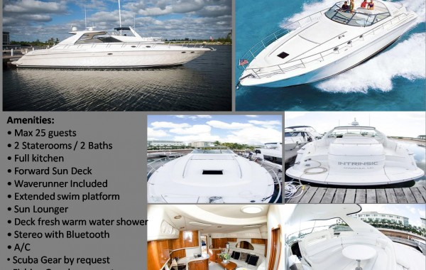 60′ Luxury Sea Ray