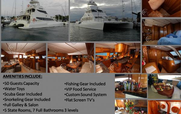 74′ Custom Power Catamaran