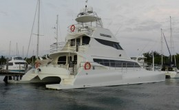 74′ Power Catamaran External