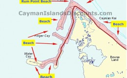 Beach Rum Point Map