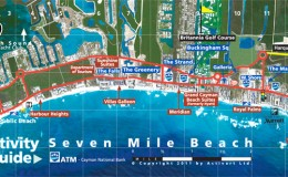 seven mile beach map