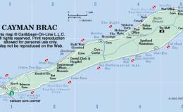 Cayman Brac Map