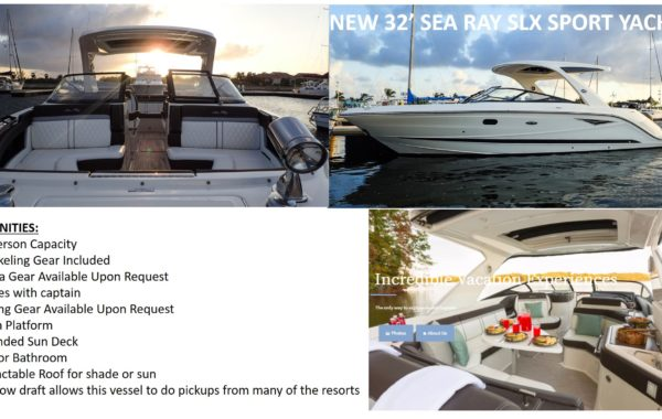 32' Sea Ray Sport Yacht
